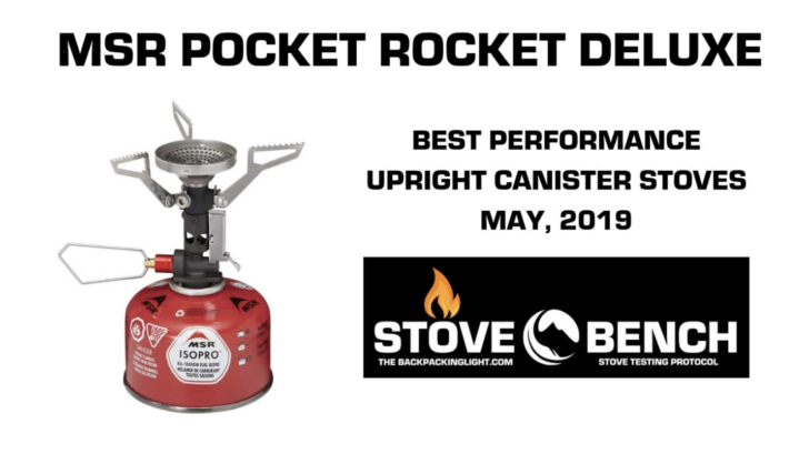 msr pocket rocket deluxe - the most powerful upright canister stove we've ever tested