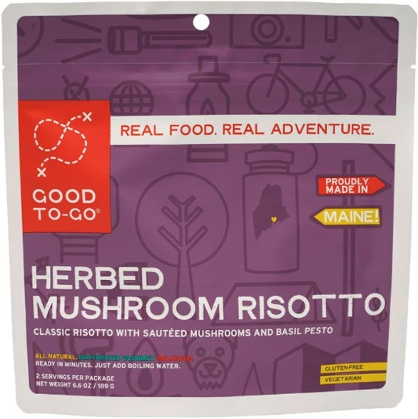 good to go mushroom risotto 2