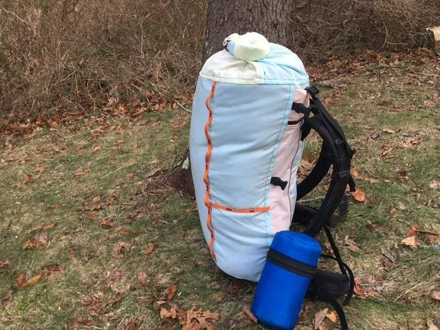 Sideview of the Airbag Pack