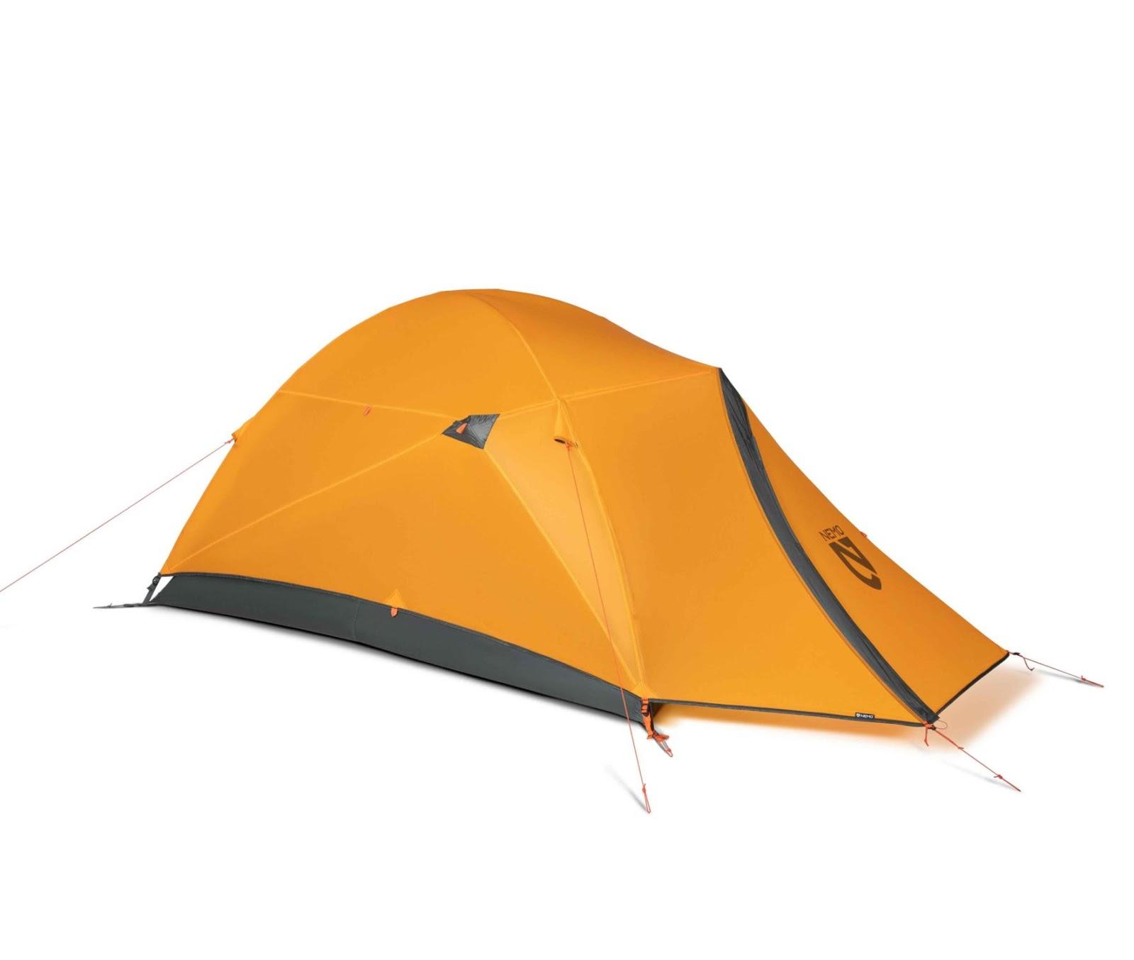 stock photo of the nemo kunai 2p tent
