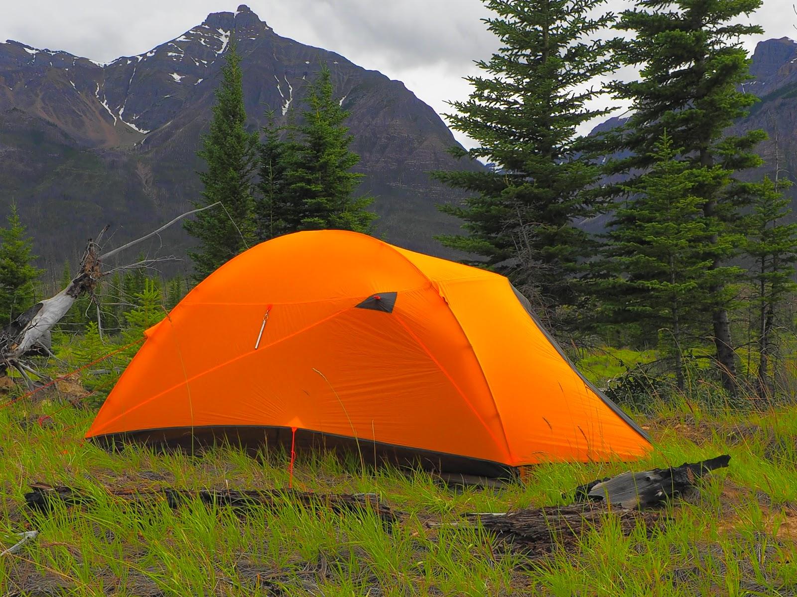 nemo kunai 2p tent at corona creek