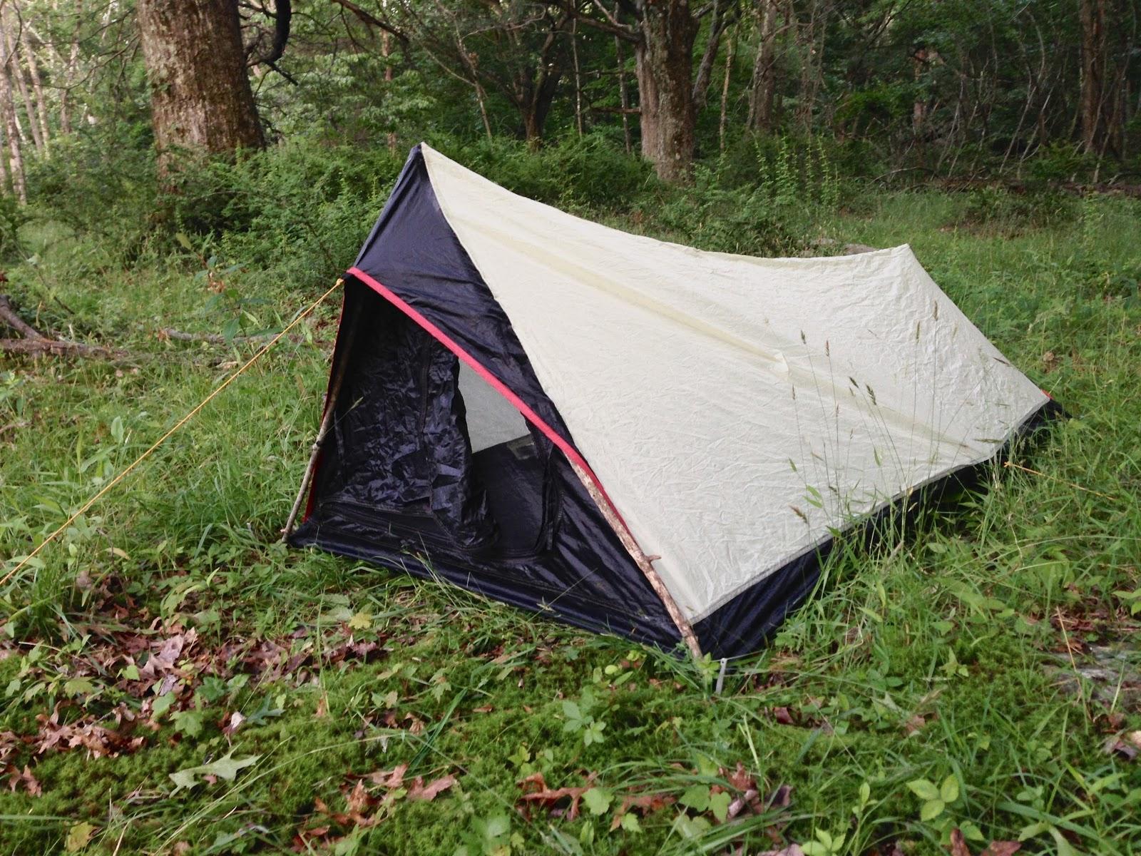 pup style trekking pole tent