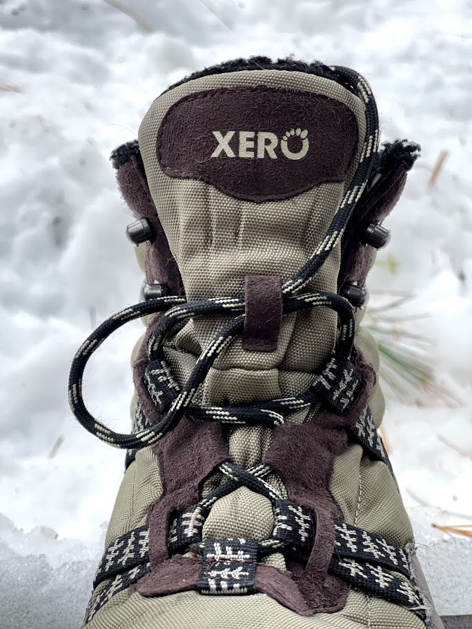 Xero Shoes Alpine Snow Boot showing instep area
