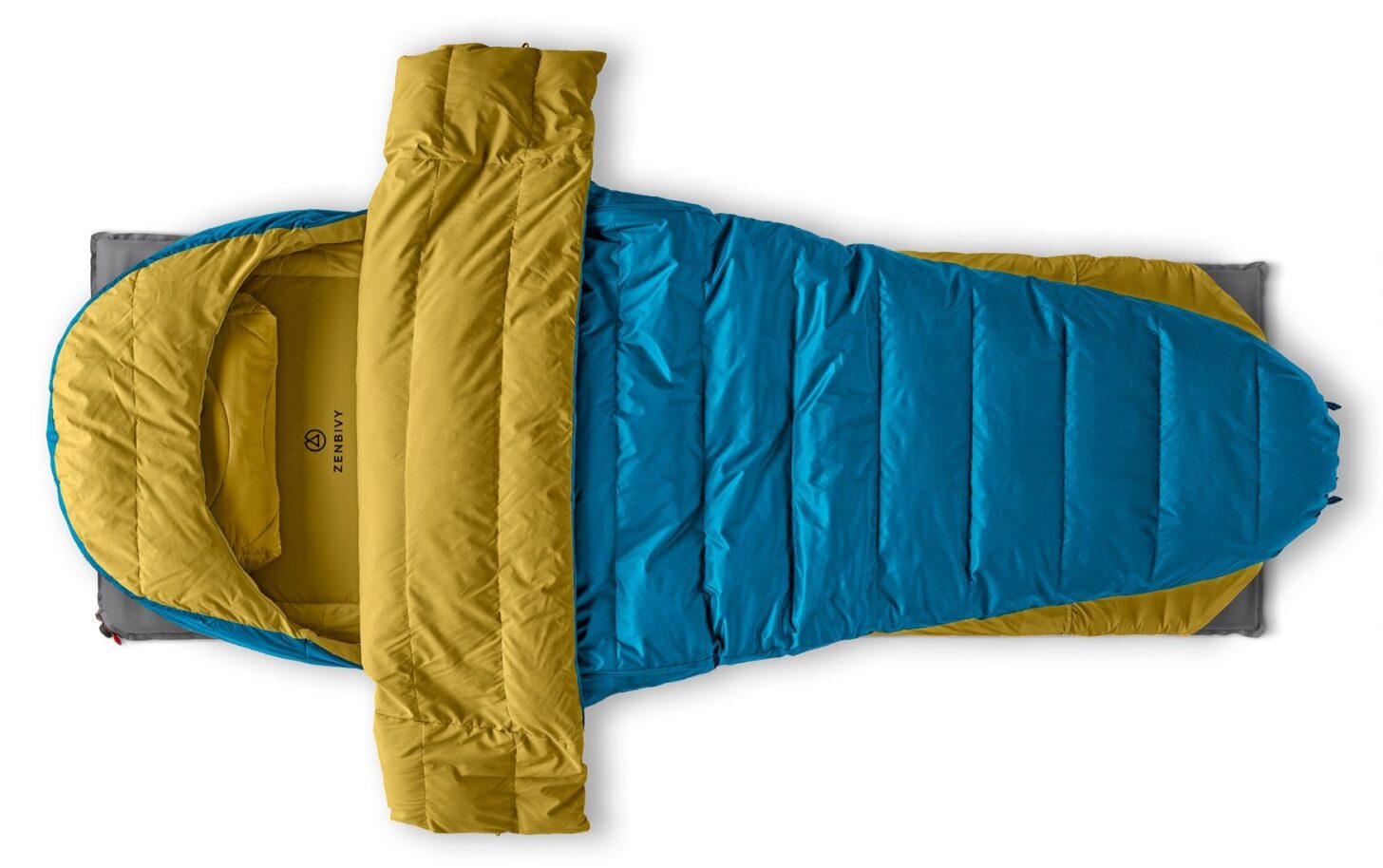 an example of the zenbivy sleep system on a white background