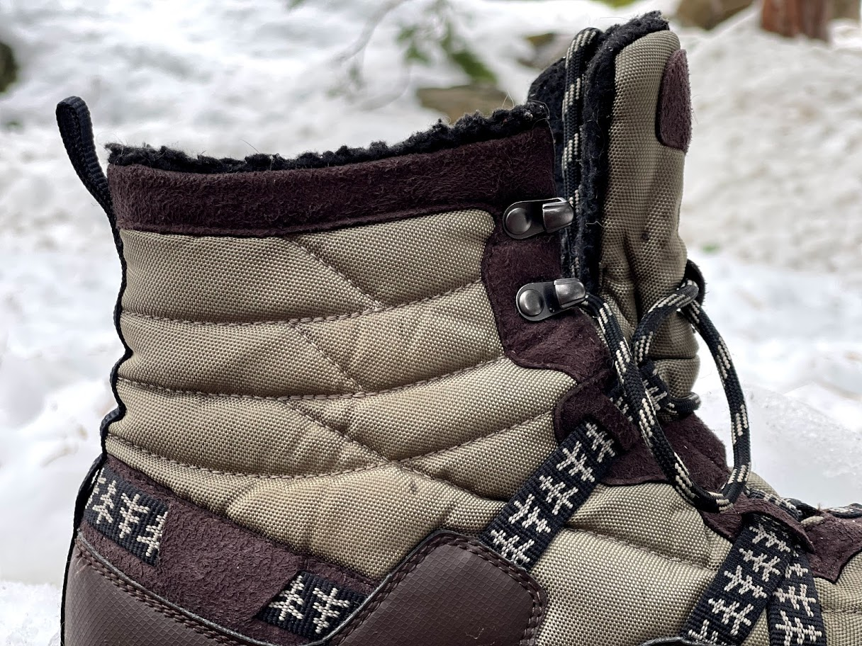 Xero Shoes Alpine Snow Boot showing the ankle cuff