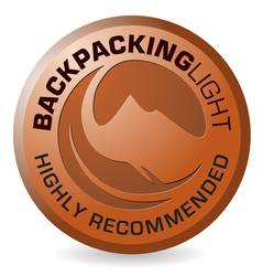 backpacking light highly recommended logo