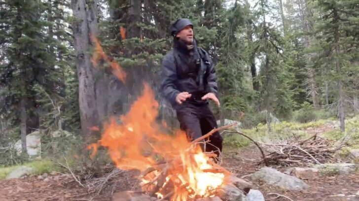 how to build a fire.
