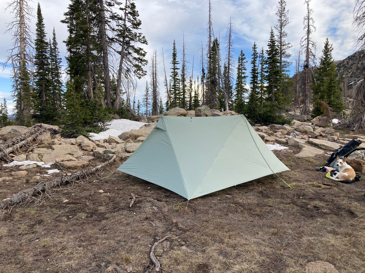 The Durston X-Mid 2P in the Uinta Mountains of northern Utah.