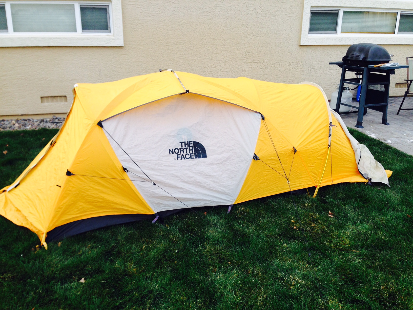 Has been repaired as seen. No other issues. Does not leak. Includes all poles but no stakes. $350 shipped. Cross listed on Mountain Project. & FS: The North Face Mountain 25 two-person Mountaineering Tent $350 ...