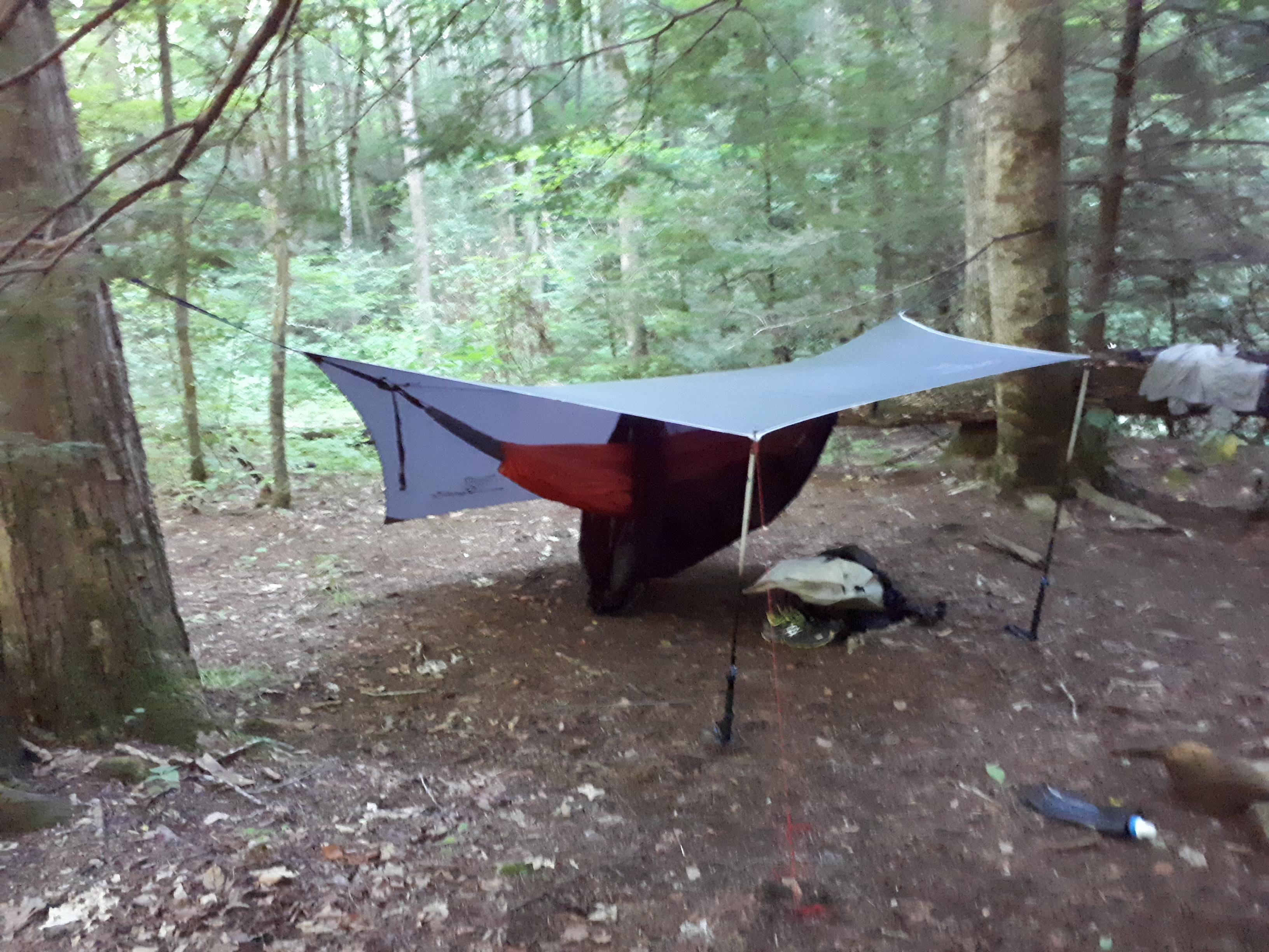 Fs Ultralight Hammock System Including Underquilt Bug Net The Retail Price For These Combined Is About 300 I Am Asking 200 Which Includes Shipping To Conus Paypal Ff Preferred Or Buyer Pays Fees
