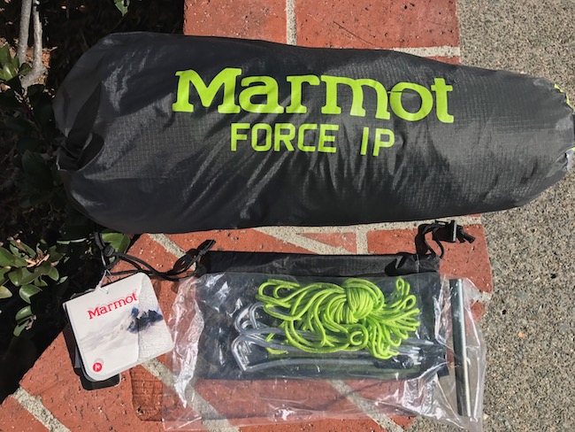 First payment via paypal to tracedef at gmail gets it. $245 shipped CONUS. & FS: Marmot Force 1P Tent: Purchased on 9/18/16 - Backpacking Light