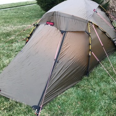 Paid $925.00. Will accept $725.00. Ship anywhere in CONUS. I have PAYPAL account. & FS Hilleberg Jannu Sand Colored Fly - Backpacking Light