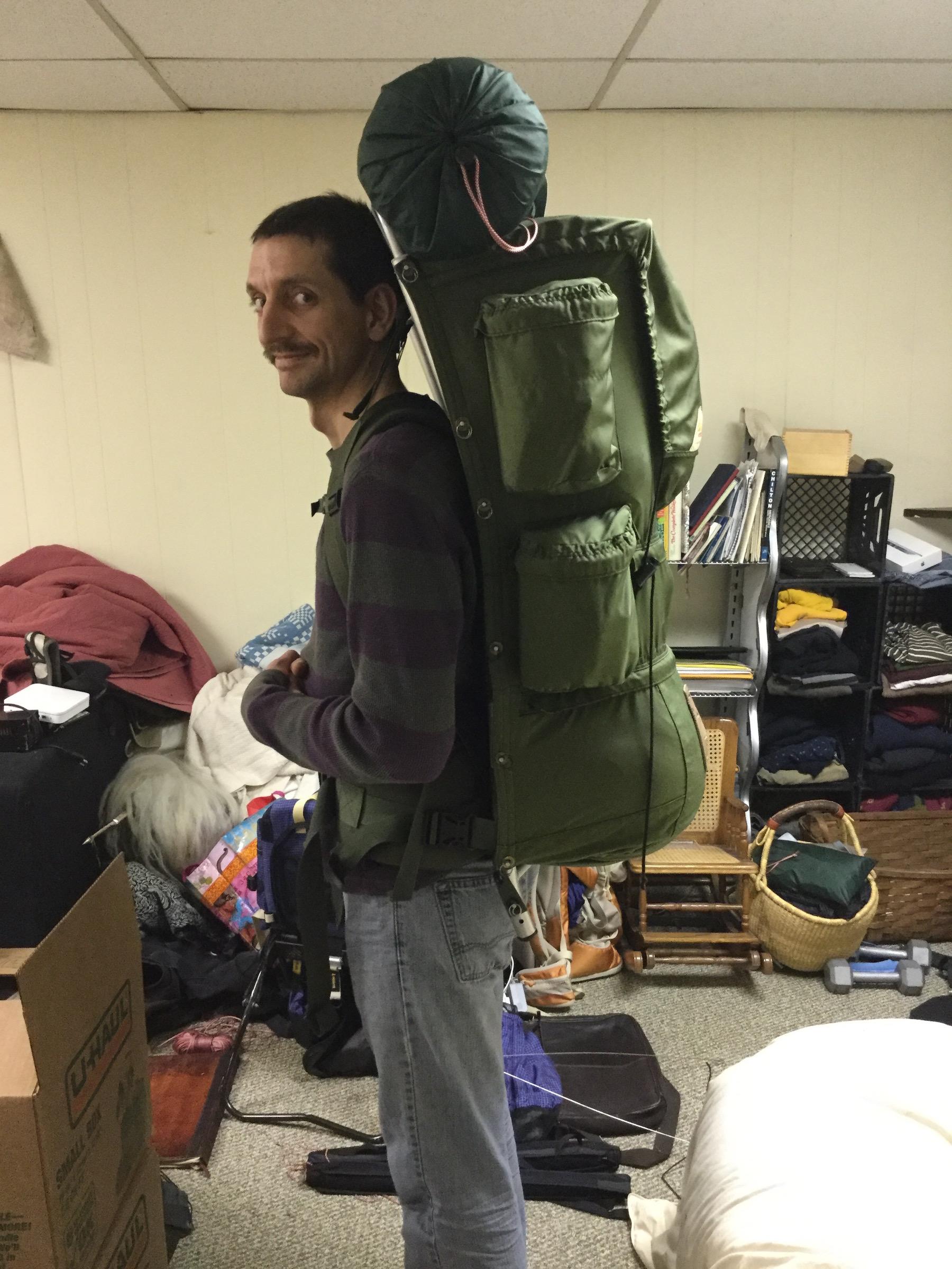 the kelty external frame backpack thread backpacking light - External Frame Backpacks