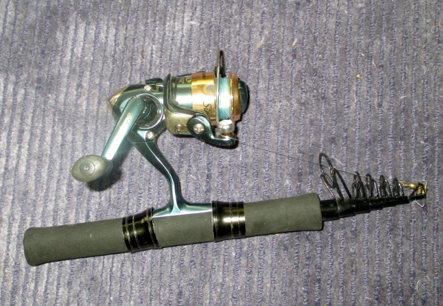 Sold two ul fishing poles per plole sold for Backpacking fishing pole