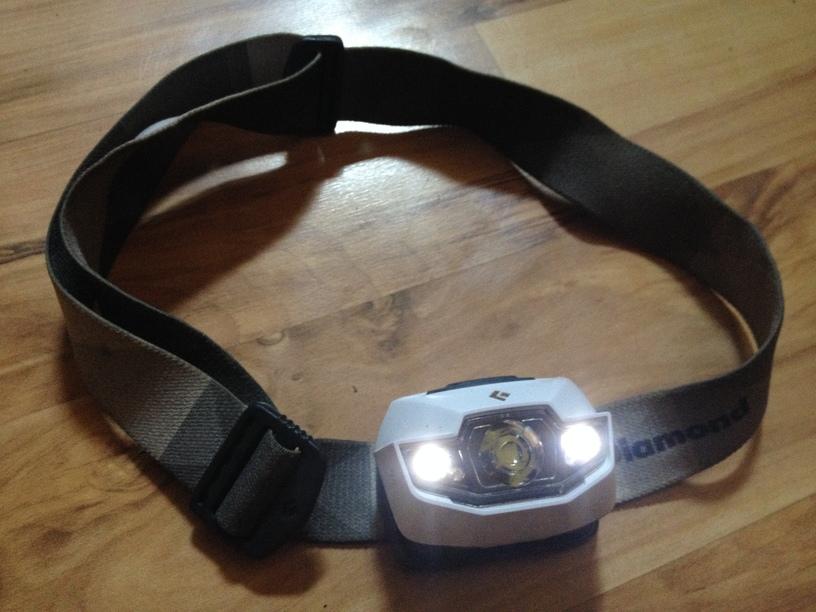 Rei Black Diamond Headlamp