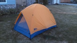 Asking $100 shipped lower 48 (Paypal family and friends) & Original REI Half Dome Tent (Early 90u0027s) - Backpacking Light