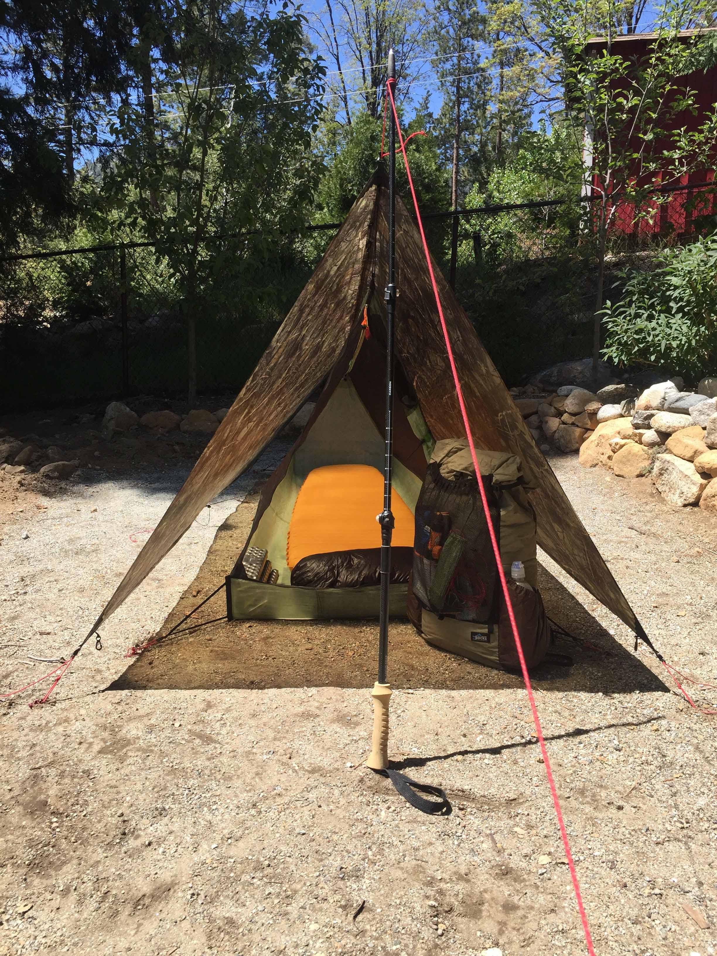 Thanks & FS: ZPacks Custom Cuben Fiber Tarp and MLD Serenity Shelter ...