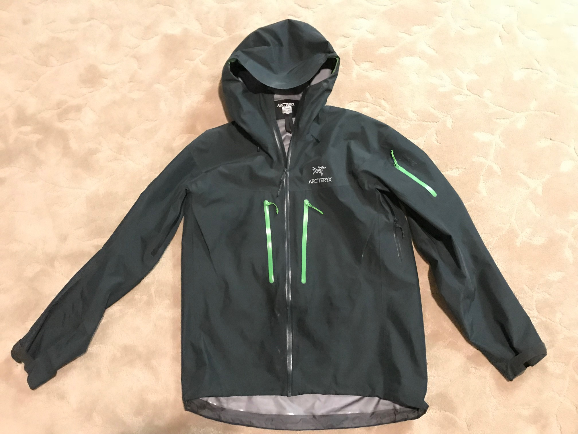 Fs Arcteryx Alpha Sv Size Xl Colour Odysseus Backpacking Light