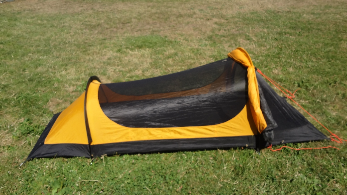 2nd Tent is a Eureka Solitaire. It has the replacement aluminum poles not the original easily breakable poles. Iu0027m asking $85 which is what I paid for it. & FS: TarptenT [Sold] Eureka Solitaire - Backpacking Light