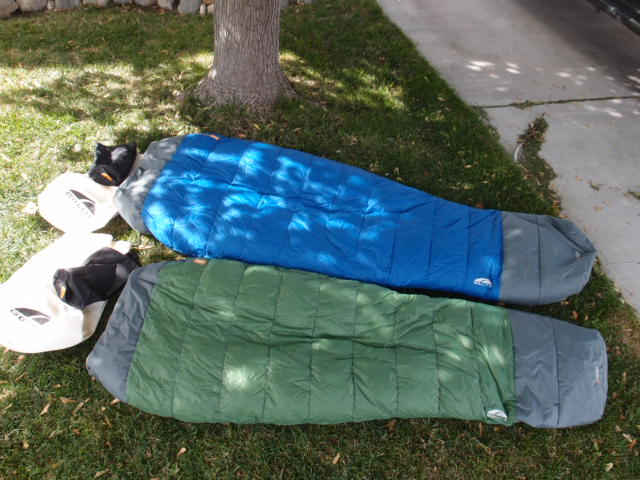 FS: 2 Golite down quilts (UL 3-Season, Long and UL 1+Season ... : golite down quilt - Adamdwight.com