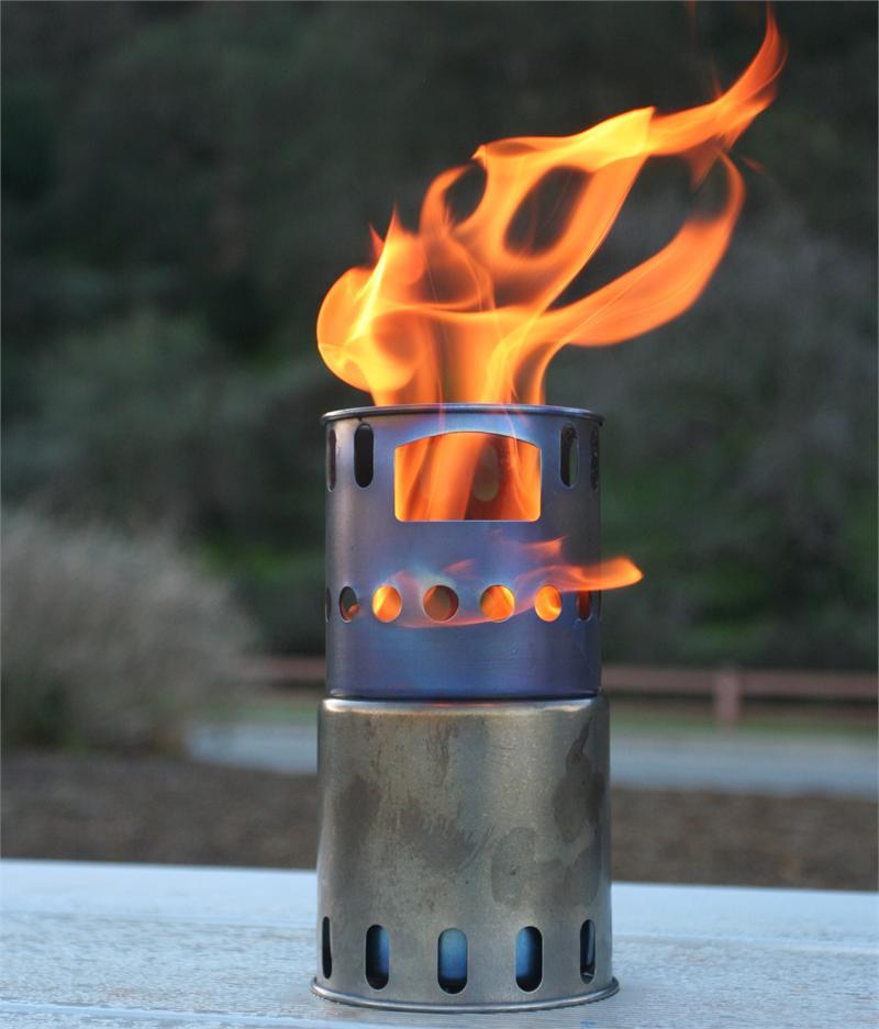 Toaks wood burning stove - Toaks Wood Burning Stove - Backpacking Light