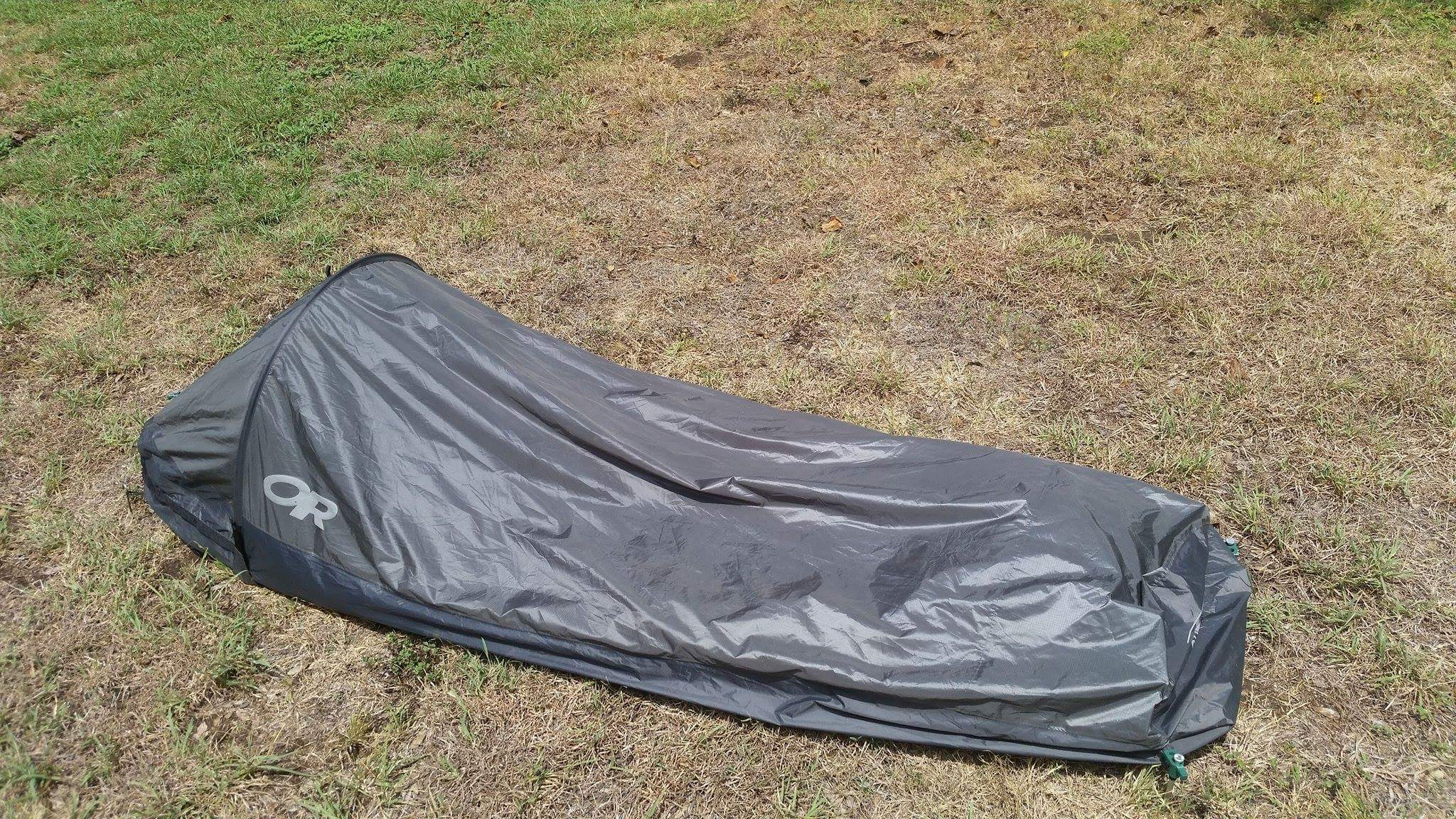 ... with other people so I bought a 2 person tent and need to sell the bivy. It is in very good condition. Iu0027m asking for $140 shipped Paypal Fu0026F or add 3%. & FS: Outdoor Research Helium Bivy - Backpacking Light