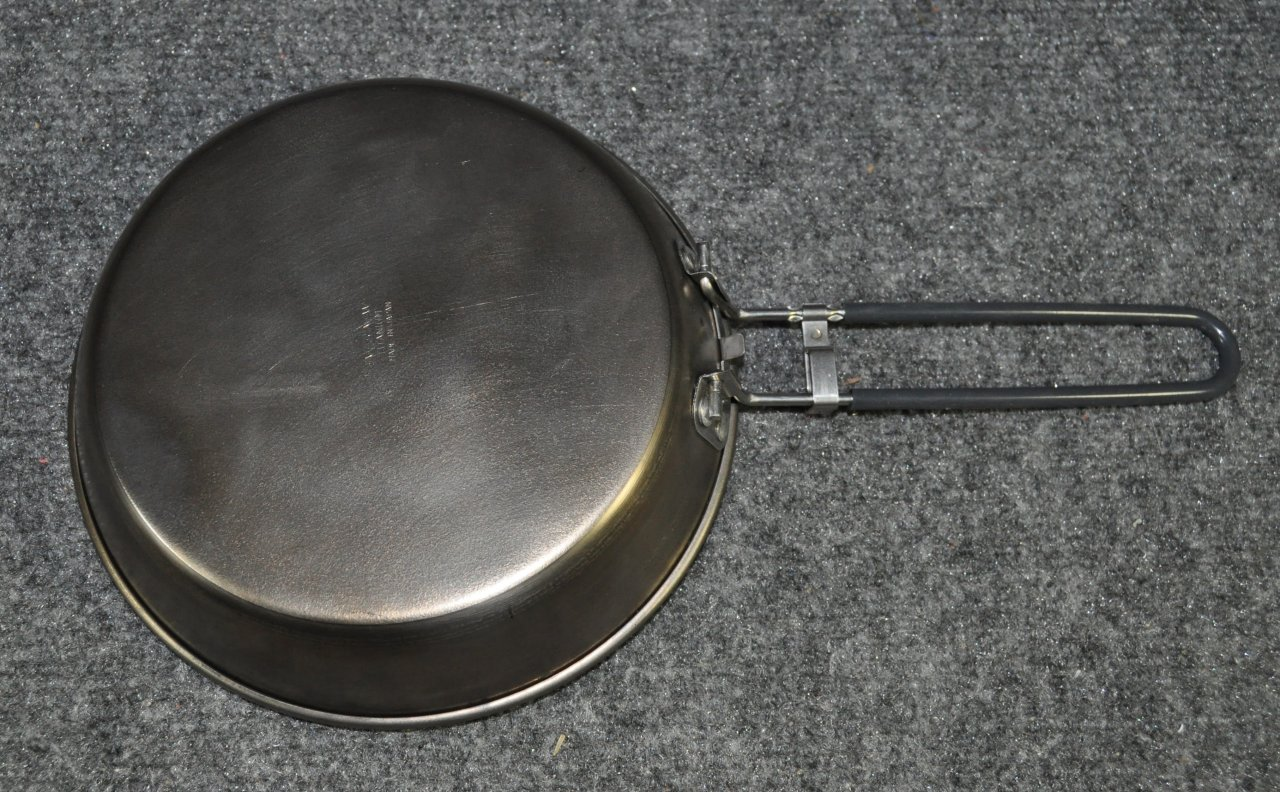 SOLD: Evernew Titanium Frying Pan - Backpacking Light
