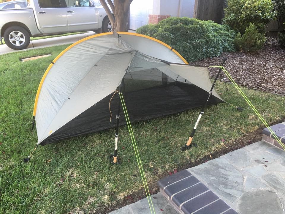new price $240.00 shipped. This price is firm because I will be paying for shipping. You save on sales tax and the wait time from Tarptent. & Fast: Tarptent Double Rainbow - Backpacking Light