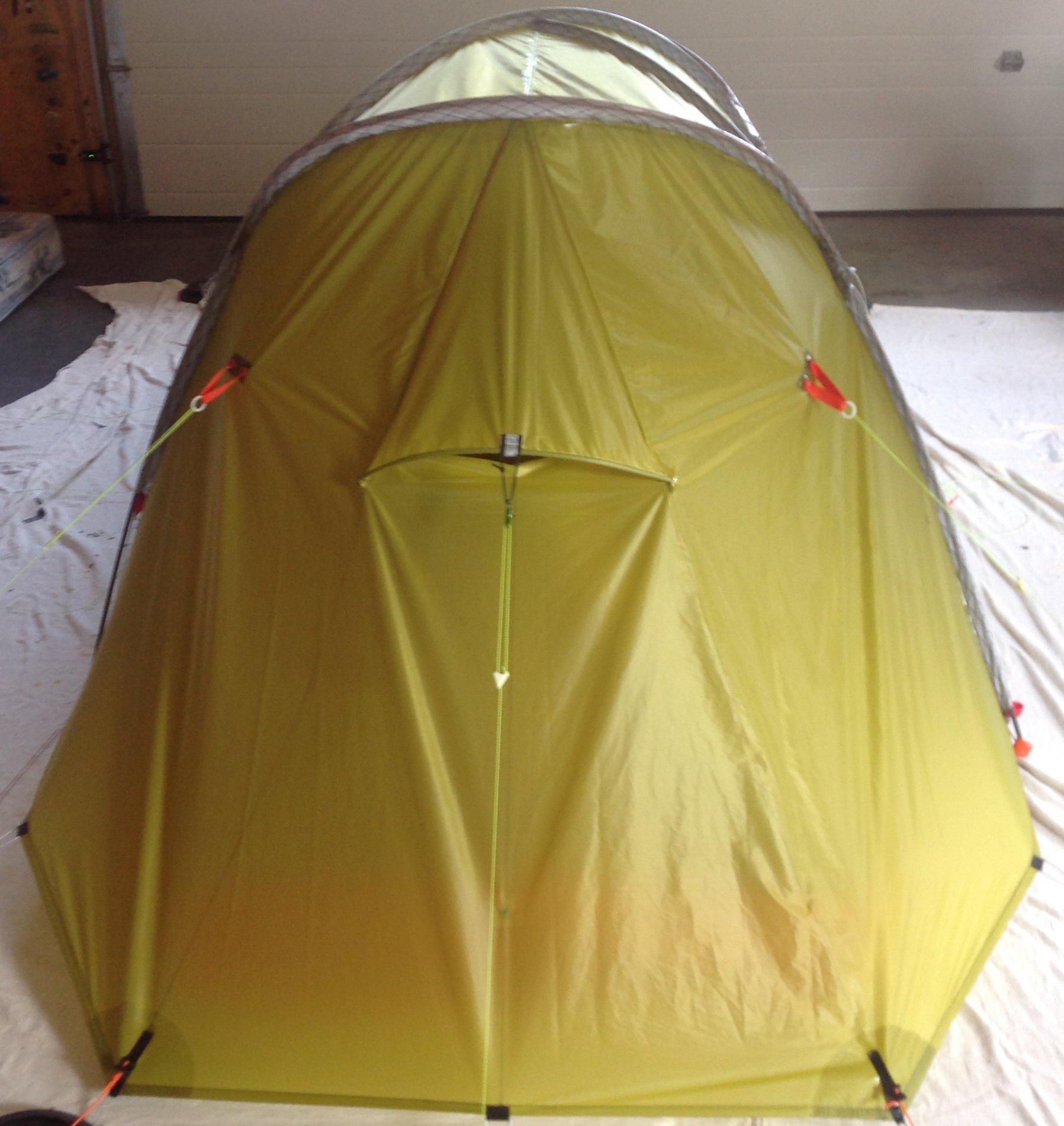 Myog 2p 4 season semi-geodesic tent & Myog 2p 4 season semi-geodesic tent - Backpacking Light