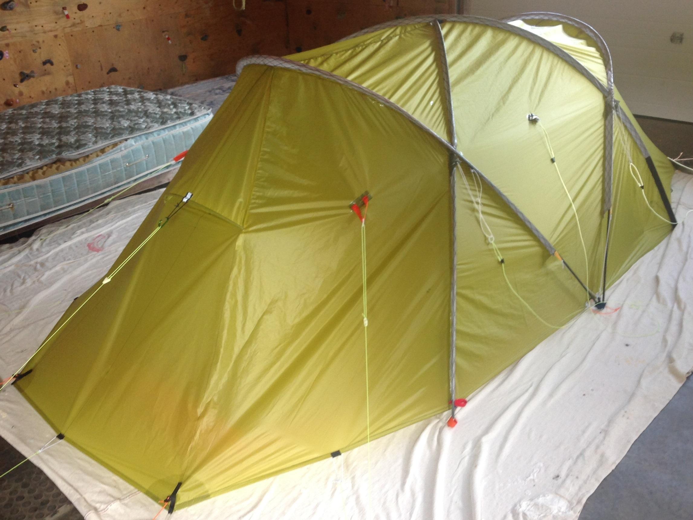 Myog 2p 4 season semi-geodesic tent & Myog 2p 4 season semi-geodesic tent - Backpacking Light