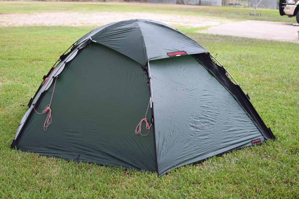 16 y-pegs included that have been used with numerous other tents so 5 of them are showing wear. Retail price with footprint $1069. & FS: Hilleberg Staika - Backpacking Light