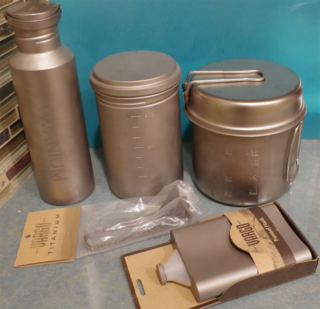 titanium storage containers