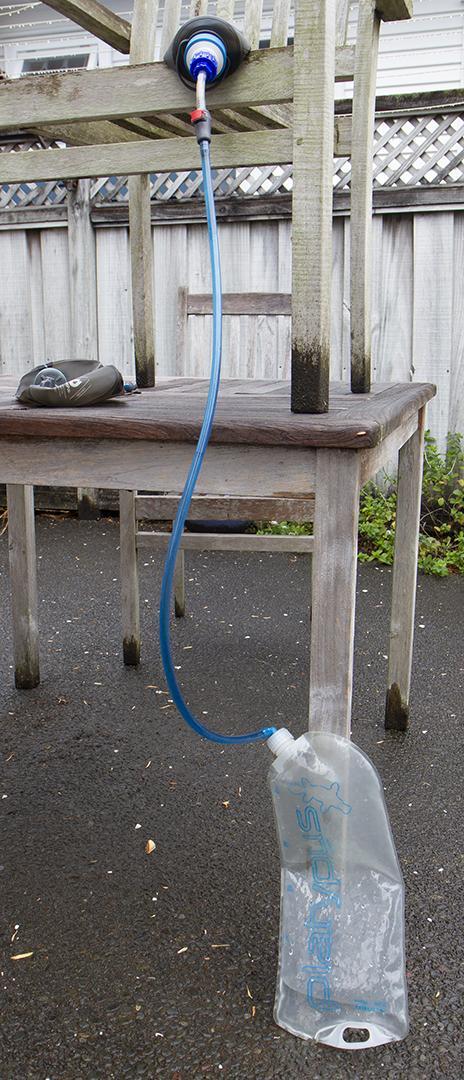 befree-hydrapak gravity system